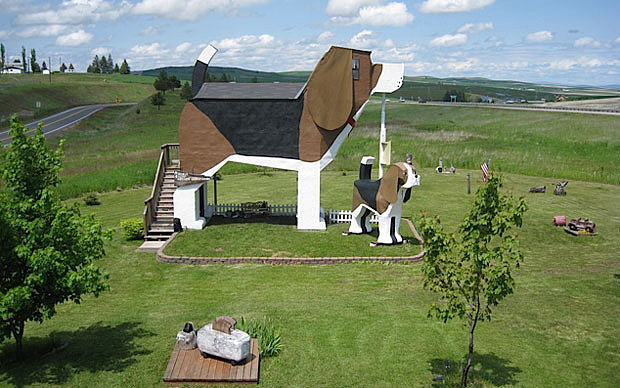Weirdest Hotels in the World - Dog Bark Park Inn, Idaho