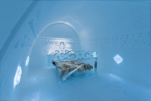 Weirdest Hotels - Ice Hotel Sweden
