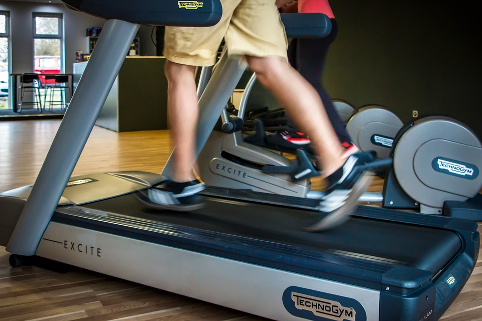 cardio and weight training - treadmill